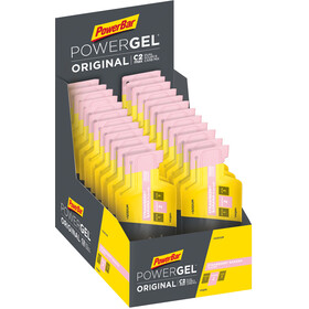 PowerBar PowerGel Original Caja 24 x 41g, Strawberry-Banana